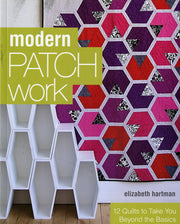 Modern Patchwork Softcover quilting book by Elizabeth Hartman