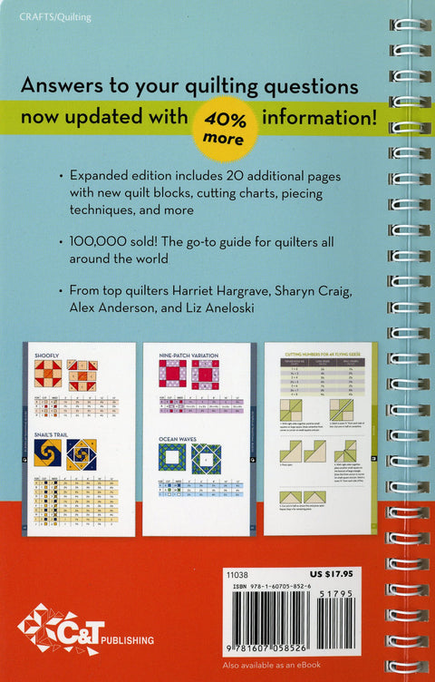 All-in-One Quilter's Reference Tool (updated) - Softcover