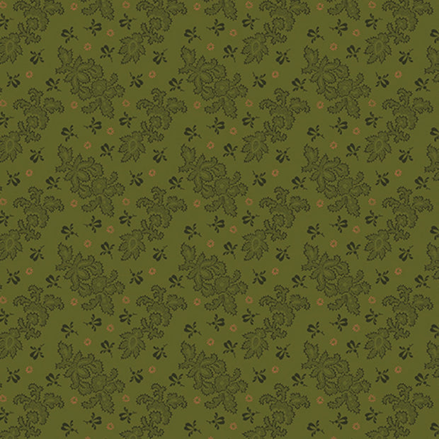 Homestead Colonial Green Lace