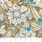 Willowberry Floral Allover Gold