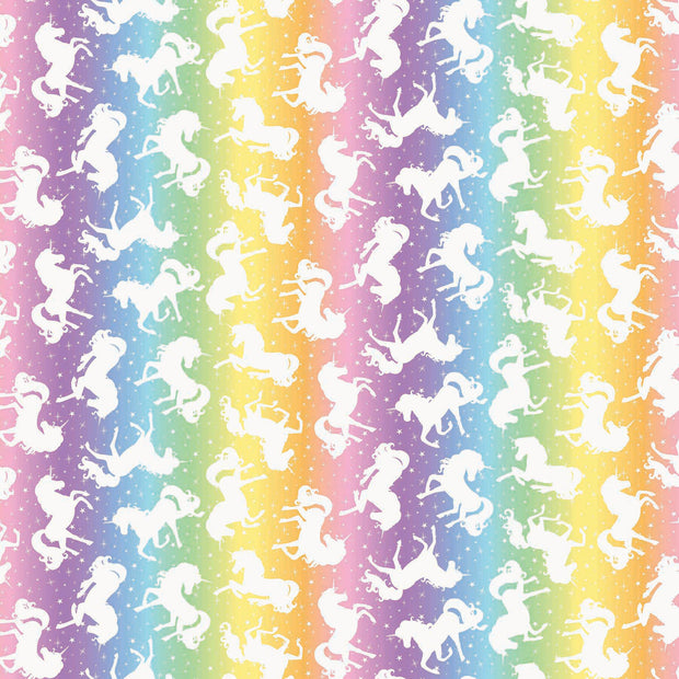 Unicorn Magic Unicorns Rainbow Ombré