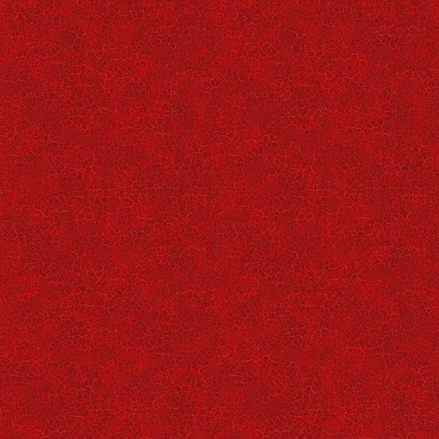 Northcott Quilting Cotton Fabric Material Farm To Table Crackle Red