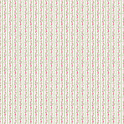 Bunny Love Rose Strips Cream By Northcott Fabrics