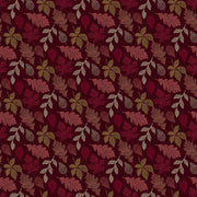 Great Plains Quilt Fabric by Nina Djuric for Northcott Red Maroon Leaves Navajo Inspired