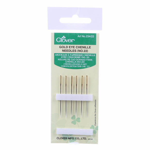Chenille Gold Eye Needles 6ct