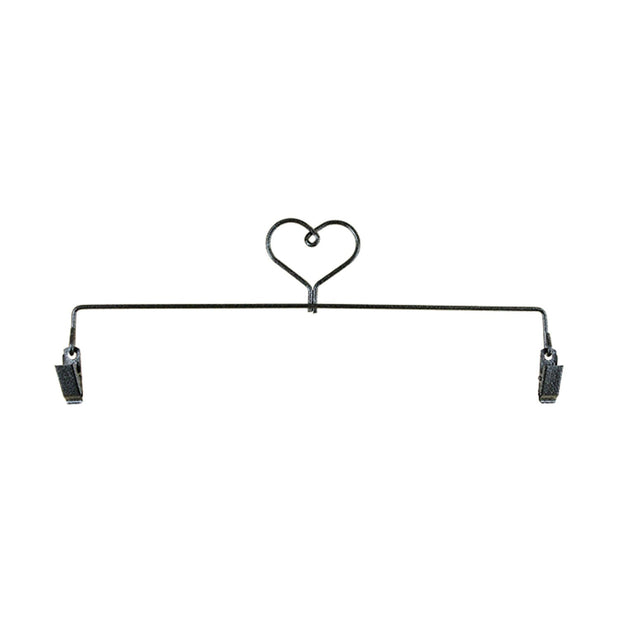 12in Heart Clip Holder