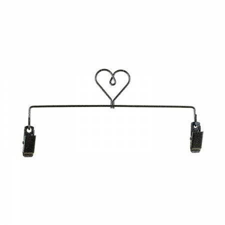 8in Heart Clip Holder