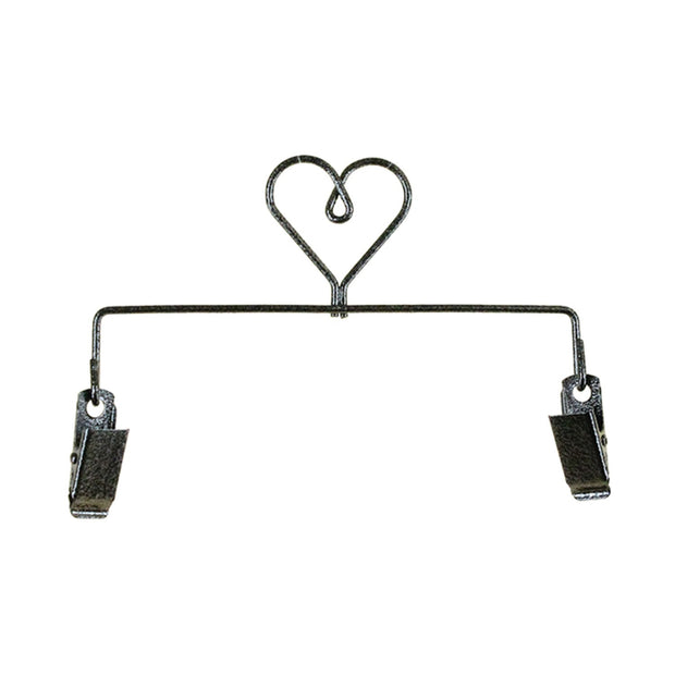 6in Heart Clip Holder