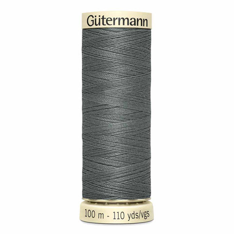 Rail Grey Sew-all Thread 100m