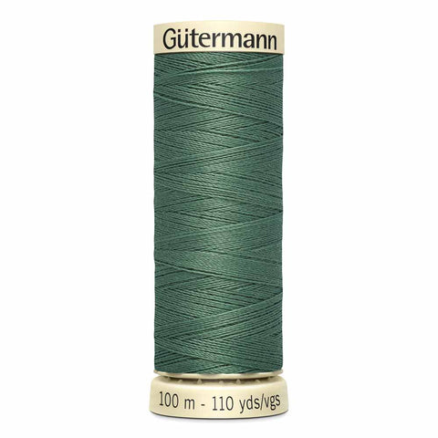 Steel Green Sew-all Thread 100m