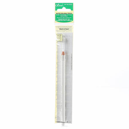 Water Soluble Pencil - White