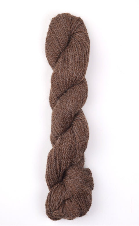 Baby Alpaca (Sport Weight) Natural Streaky Brown
