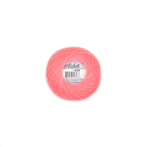 Lizbeth Cotton Thread Salmon Med 628