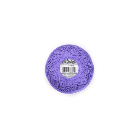 Lizbeth Cotton Thread Lilac Dk 641