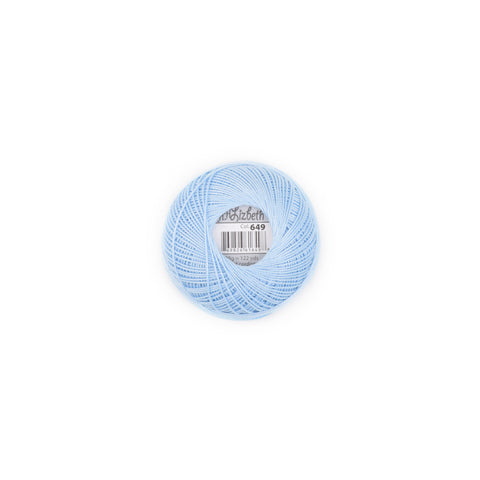 Lizbeth Cotton Thread Baby Blue 649
