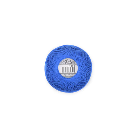 Lizbeth Cotton Thread Royal Blue 652