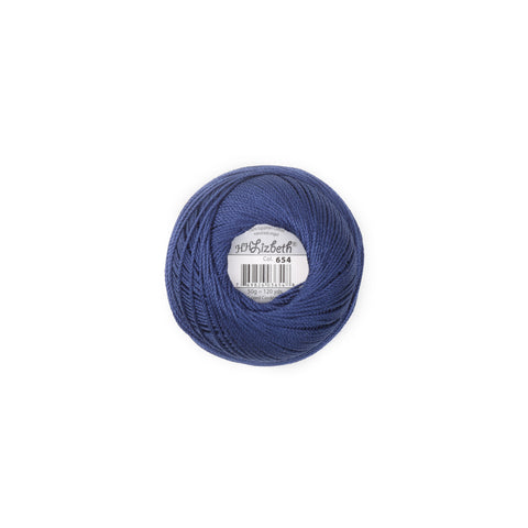 Lizbeth Cotton Thread Navy Blue 654