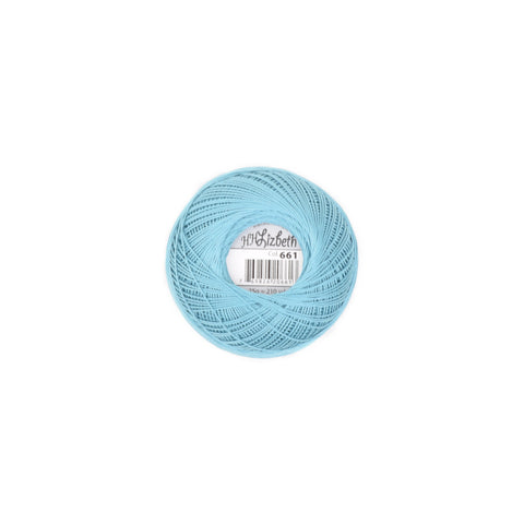 Lizbeth Cotton Thread Country Turquoise Med 661
