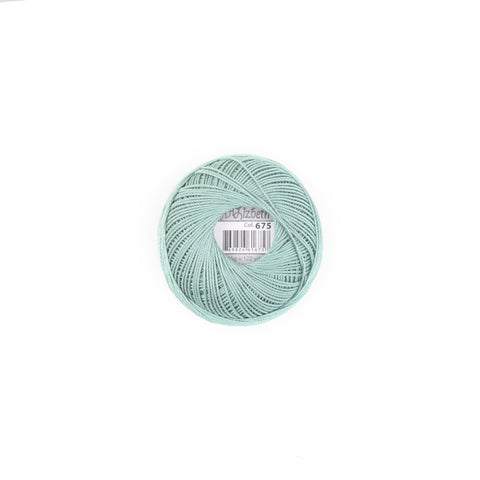 Lizbeth Cotton Thread Fern Green Med 675