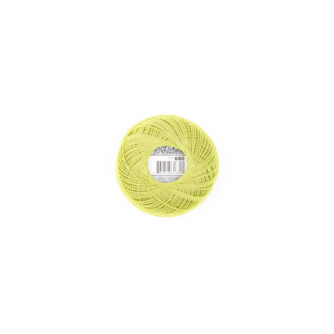 Lizbeth Cotton Thread Spring Green 680