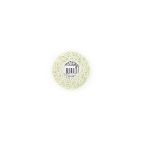 Lizbeth Cotton Thread Pistachio Green Lt 681