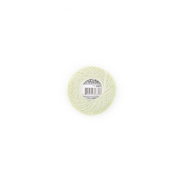 Lizbeth 100% Egyptian Cotton cordonnet thread Pistachio Green Light