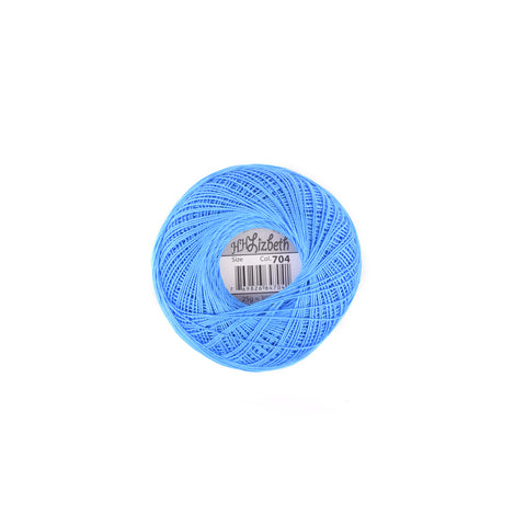 Lizbeth Cotton Thread Sky Blue Med 704