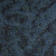 Feathers Mandarin Teal Lacey Vines