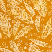 Banyan Batiks Mandarin Teal Quilt Fabric Orange Toss