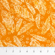 Feathers Mandarin Teal Orange