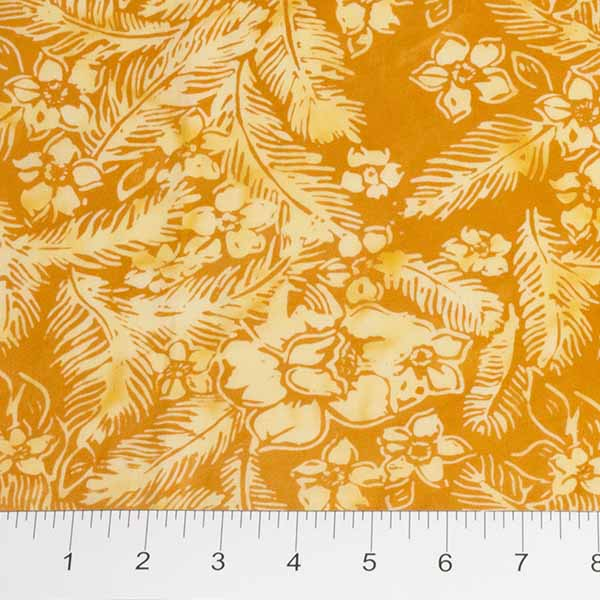 Feathers Mandarin Teal Feathers n Flowers Orange