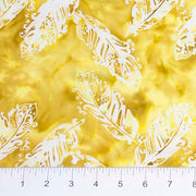 Feathers Mandarin Teal Yellow