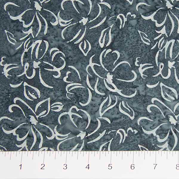Darling Lace Sketched Flowers on Grey