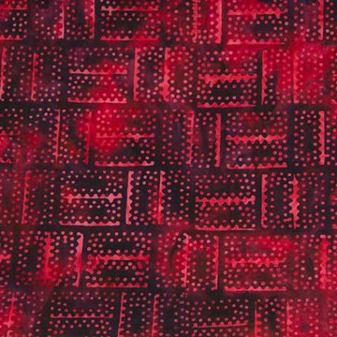 Mary Red Basket-Weave