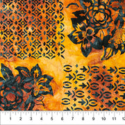 Baralla Midnight Gold Patchwork Yellow