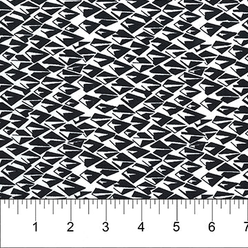 Banyan Classics Batiks Origami Black on White