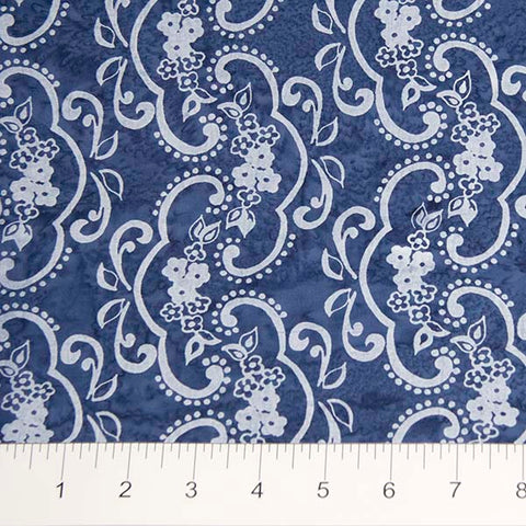 Darling Lace White Lace on Blue
