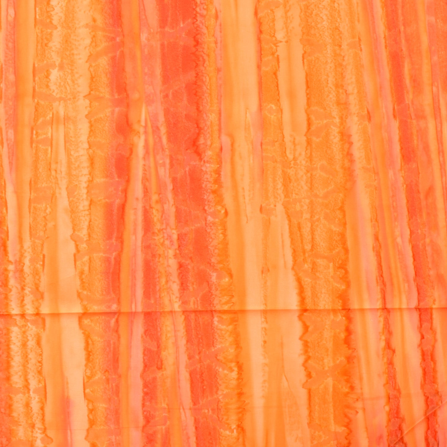 Brush Strokes Batik Basics Orange