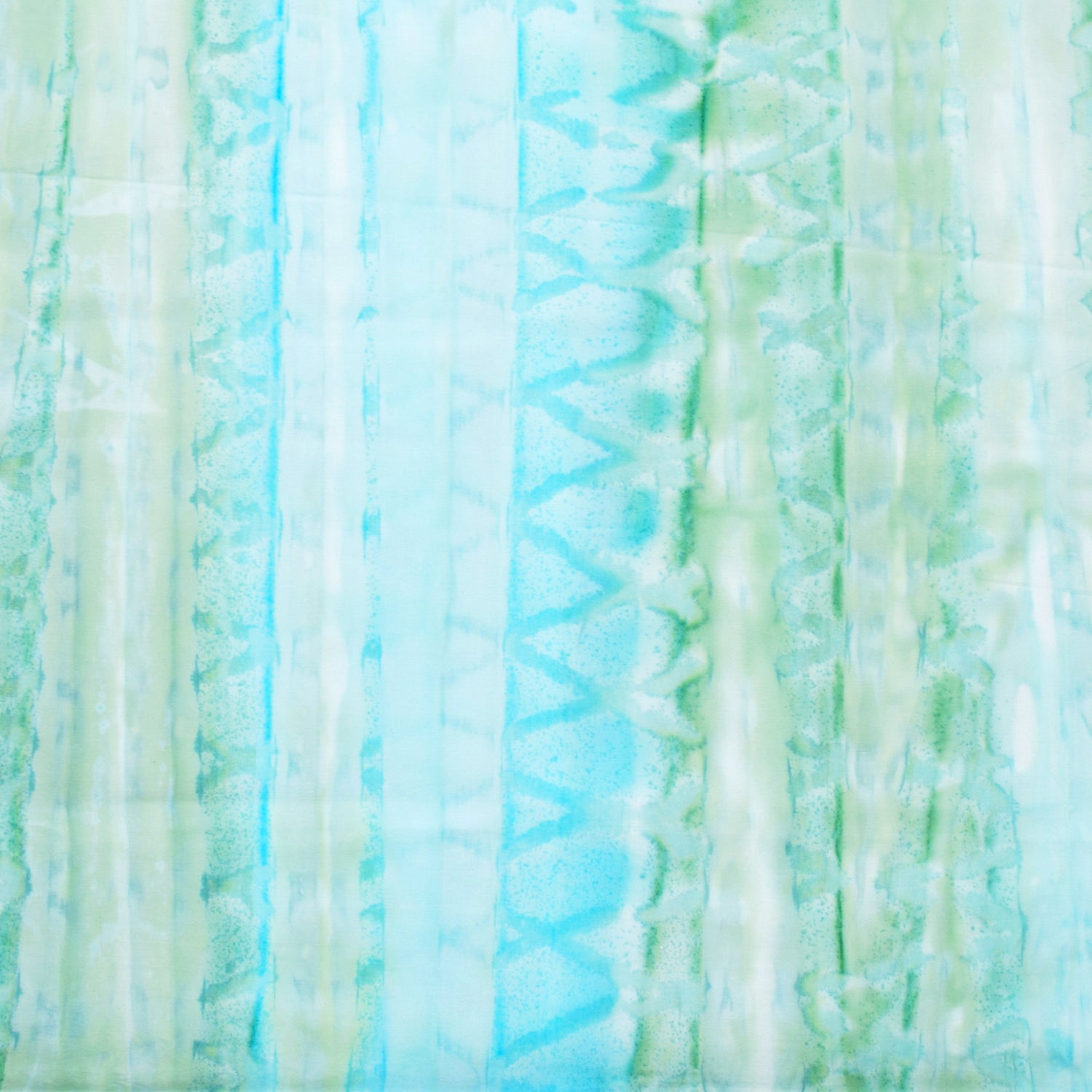 Brush Strokes Batik Basics Green