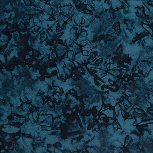Broken Glass Batik Basics 48 Navy
