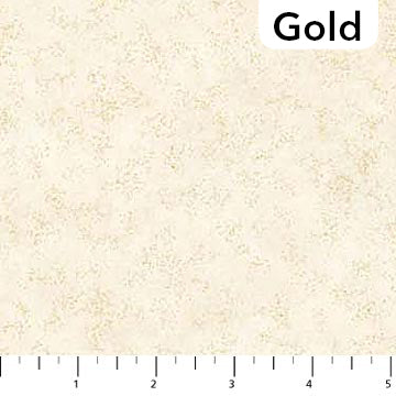 Artisan Spirit Shimmer Radiance Metallic Quilt Fabric Northcott Deborah Edwards Cream Gold