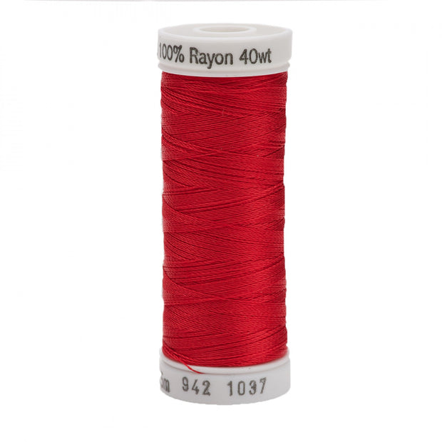 225m 40wt Rayon Embroidery Thread 1037 Lt Red