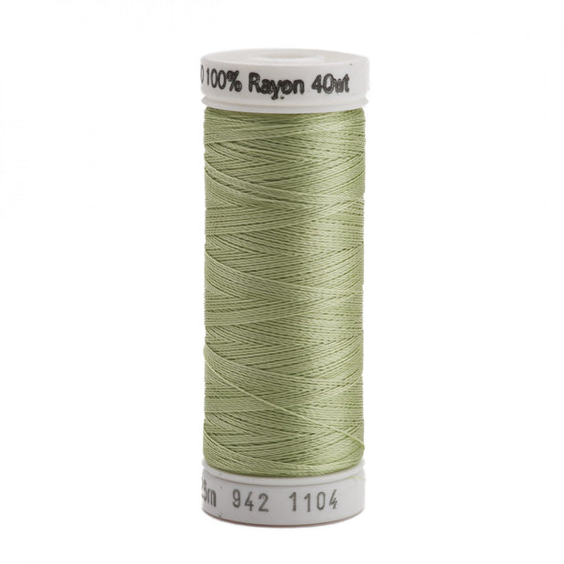 225m 40wt Rayon Embroidery Thread 1104 Pastel Yellow-Green