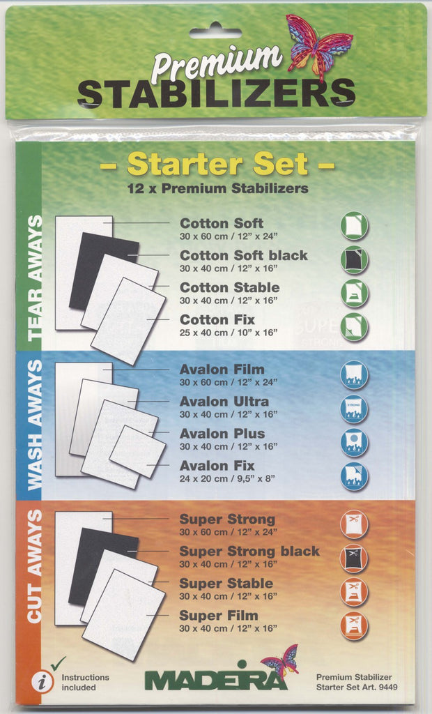 Stabilizer Starter Pack 12pc