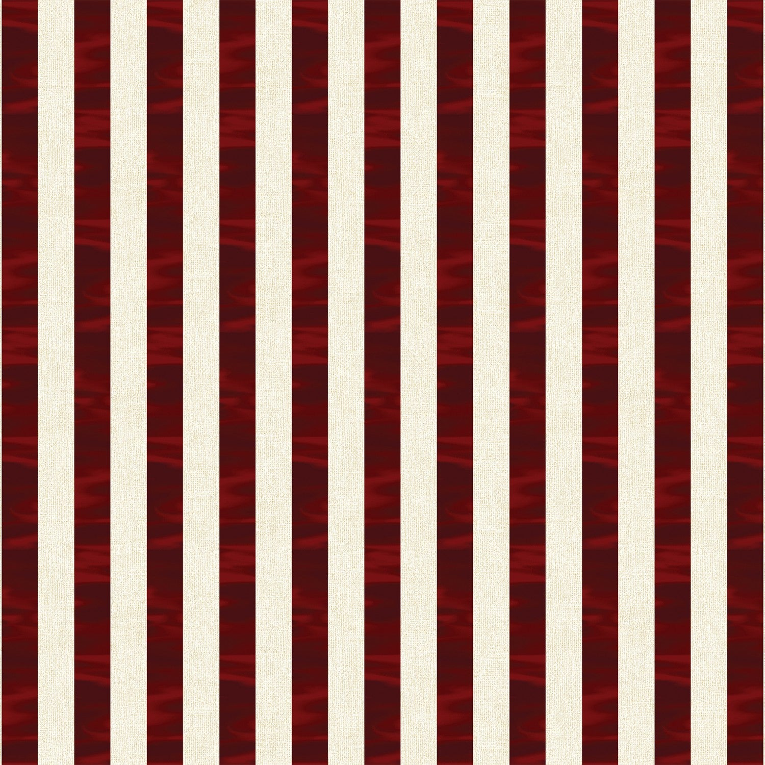 Red & White Channel Stripe