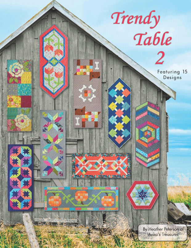 Quilted Table Toppers Book - Trendy Table 2