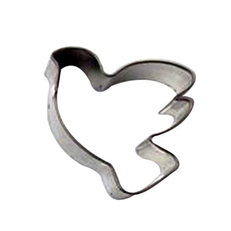 Tin Cookie Cutter Bird 1.5 Inches 4 cm