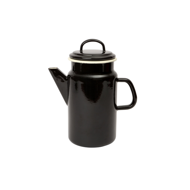 Dexam Vintage Style Enamelware Coffee Pot Black
