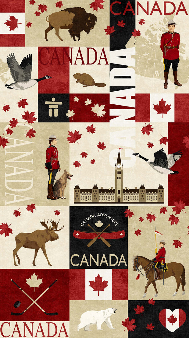 Canadian Classics Fabric Panel