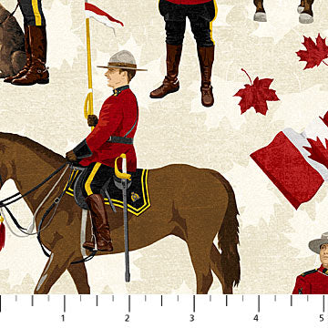 Canadian Classics Mounties on Beige